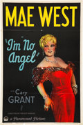 "Movie Posters:Comedy, I'm No Angel (Paramount, 1933). One Sheet (27"" X 41"").. ..."