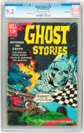 Silver Age (1956-1969):Horror, Ghost Stories #13 Western Penn pedigree (Dell, 1966) CGC NM- 9.2Cream to off-white pages....