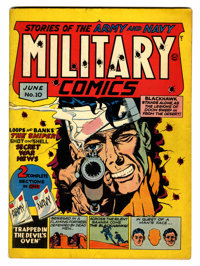 Military Comics #10 (Quality, 1942) Condition: VG/FN