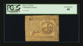 Colonial Notes:Continental Congress Issues, Continental Currency February 17, 1776 $2 PCGS Extremely Fine 40.....
