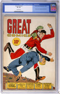 Golden Age (1938-1955):Adventure, Great Comics #1 (Great Comics Publications, 1941) CGC VF 8.0 Off-white pages....