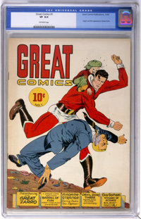 Great Comics #1 (Great Comics Publications, 1941) CGC VF 8.0 Off-white pages