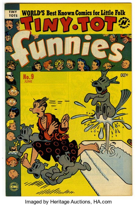 Tiny Tot Funnies #9 File Copy (Harvey, 1951) Condition: NM-....