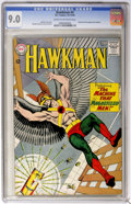 Silver Age (1956-1969):Superhero, Hawkman #4 (DC, 1964) CGC VF/NM 9.0 Cream to off-white pages....