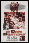 """Movie Posters:War, The Dam Busters (Warner Brothers, 1955). One Sheet (27"""" X 41"""").War. Starring Richard Todd , Michael Redgrave, Ursula Jeans,..."""