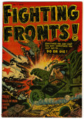 Golden Age (1938-1955):War, Fighting Fronts! #1 File Copy (Harvey, 1952) Condition: VF....