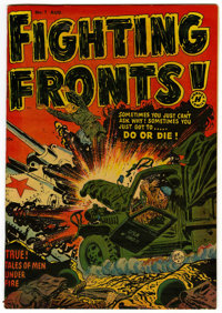 Fighting Fronts! #1 File Copy (Harvey, 1952) Condition: VF