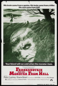"Movie Posters:Horror, Frankenstein and the Monster from Hell (Paramount, 1974). One Sheet (27"" X 41""). Horror. ..."