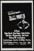 "Movie Posters:Academy Award Winner, The Godfather Part II (Paramount, 1974). One Sheet (27"" X 41""). Academy Award Winner. ..."