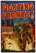Golden Age (1938-1955):War, Fighting Fronts! #4 File Copy (Harvey, 1952) Condition: VF/NM....