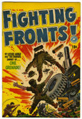 Golden Age (1938-1955):War, Fighting Fronts! #5 File Copy (Harvey, 1952) Condition: VF/NM....