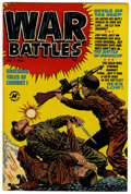 Golden Age (1938-1955):War, War Battles #1 File Copy (Harvey, 1952) Condition: VF+....