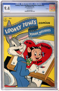 Golden Age (1938-1955):Cartoon Character, Looney Tunes and Merrie Melodies Comics #53 File Copy (Dell, 1946)CGC NM 9.4 Off-white pages....