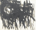 Fine Art - Painting, American:Contemporary   (1950 to present)  , REUBEN NAKIAN (American, 1897-1986). Abstract Composition.Ink on paper. 11-1/2in. x 13-3/4in.. Signed at lower right ...(Total: 1 Item)