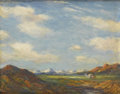 Fine Art - Painting, American:Modern  (1900 1949)  , ALBERT LOREY GROLL (American, 1866-1952). New Mexico. Oil oncanvas. 9-1/2in. x 11-1/2in.. Signed at lower left Groll...(Total: 1 Item)