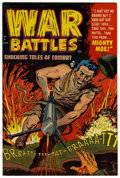 Golden Age (1938-1955):War, War Battles #6 File Copy (Harvey, 1952) Condition: NM-....