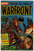 Golden Age (1938-1955):War, Warfront #4 File Copy (Harvey, 1952) Condition: VF/NM....