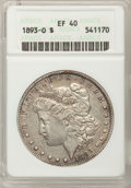 1893-O $1 XF40 ANACS. NGC Census: (85/1482). PCGS Population (161/1979). Mintage: 300,000. Numismedia Wsl. Price for pro...
