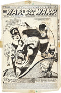 Original Comic Art:Splash Pages, Don Perlin, Sal Trapani, Rick Magyar, Jack Abel, and Al MilgromThe Defenders #106 Splash page 1 Original Art (Mar...