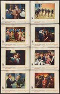 """Movie Posters:Musical, A Star Is Born Lot (Warner Brothers, 1954). Lobby Card Set of 8 (11"""" X 14"""") and Portrait and Scene Photo (8"""" X 10""""). Musical... (Total: 10 Posters)"""