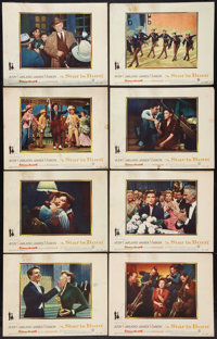 "A Star Is Born Lot (Warner Brothers, 1954). Lobby Card Set of 8 (11"" X 14"") and Portrait and Scene Photo (8&qu..."