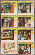 "Movie Posters:Comedy, Take Me to Town (Universal International, 1953). Lobby Card Set of 8 (11"" X 14""). Comedy.. ... (Total: 8 Items)"