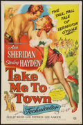 """Movie Posters:Comedy, Take Me to Town (Universal International, 1953). One Sheet (27"""" X 41""""). Comedy.. ..."""