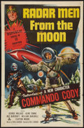 """Movie Posters:Serial, Radar Men from the Moon (Republic, 1952). One Sheet (27"""" X 41""""). Serial.. ..."""