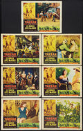 "Movie Posters:Adventure, Tarzan and the She-Devil (RKO, 1953). Lobby Cards (7) (11"" X 14"").Adventure.. ... (Total: 7 Items)"