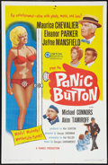 "Movie Posters:Comedy, Panic Button (Gorton Associates, 1964). One Sheet (27"" X 41"").Comedy.. ..."