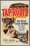 """Movie Posters:Drama, Tap Roots (Universal International, R-1956). One Sheet (27"""" X 41"""") and Lobby Card Set of 8 (11"""" X 14""""). Drama.. ... (Total: 9 Items)"""