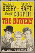 "Movie Posters:Adventure, The Bowery (20th Century Fox, R-1946). One Sheet (27"" X 41"").Adventure.. ..."