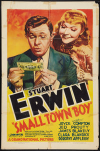 "Small Town Boy (Grand National, 1937). One Sheet (27"" X 41""). Comedy"