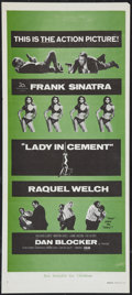 "Movie Posters:Crime, Lady in Cement Lot (20th Century Fox, 1968). Australian Daybills(2) (13"" X 30""). Crime.. ... (Total: 2 Items)"