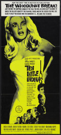 """Movie Posters:Mystery, Ten Little Indians Lot (20th Century Fox, 1966). Australian Daybill(13"""" X 29"""") and One Sheet (27"""" X 41""""). Mystery.. ... (Total: 2Items)"""