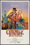 "Movie Posters:Adventure, Crocodile Dundee (Hoyts Distribution, 1986). Australian One Sheet(27"" X 40""). Adventure.. ..."