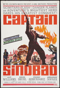 """Captain Sindbad Lot (MGM, 1963). One Sheet (27"""" X 41""""), Lobby Card Set of 8, and Lobby Cards (2) (11"""" X 1..."""