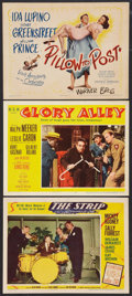 """Movie Posters:Film Noir, The Strip Lot (MGM, 1951). Title Lobby Card (11"""" X 14"""") and LobbyCards (2) (11"""" X 14""""). Film Noir.. ... (Total: 3 Items)"""