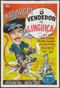 "Movie Posters:Comedy, O Vendedor de Lingüiças Lot (Pam Filmes, 1962). Two Brazilian OneSheets (30"" X 44"") and One Mexican One Sheet (27"" X 37""). ...(Total: 3 Items)"