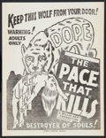 """Movie Posters:Exploitation, The Pace That Kills (Willis Kent Productions, 1935). Herald (14"""" X18""""). Exploitation.. ..."""