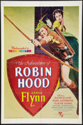 "Movie Posters:Swashbuckler, The Adventures of Robin Hood (United Artists, R-1976). One Sheet (27"" X 41""). Swashbuckler.. ..."