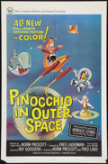 """Movie Posters:Animated, Pinocchio In Outer Space (Universal, 1965). One Sheet (27"""" X 41""""). Animated.. ..."""