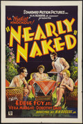 "Movie Posters:Exploitation, Nearly Naked (Standard, 1933). One Sheet (27"" X 41"").Exploitation.. ..."