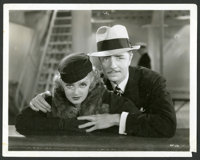 """Bette Davis & William Powell in """"Fashions of 1934"""" Lot (Warner Brothers, 1934). Scene Photo and Portra..."""