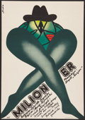 """Movie Posters:Drama, Milioner Lot (Zespol, 1978). Polish One Sheets (3) (18.25"""" X 26"""") and (18.75"""" X 26.75"""") B2s. Drama.. ... (Total: 3 Items)"""