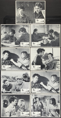 """The Last Picture Show (Columbia, 1971). Lobby Card Set of 8 plus one (11"""" X 14""""). Drama. ... (Total: 9 Items)"""