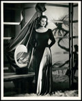 "Movie Posters:Crime, Faith Domergue in ""Vendetta"" (RKO, 1950). Portrait Photo (8"" X10""). Crime.. ..."
