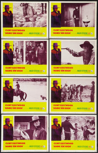 "Hang 'Em High (United Artists, 1968). Lobby Card Set of 8 (11"" X 14""). Western. ... (Total: 8 Items)"