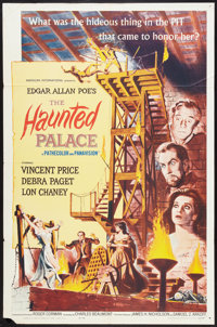 """The Haunted Palace Lot (American International, 1963). One Sheets (2) (27"""" X 41""""). Horror"""