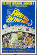 """Movie Posters:Science Fiction, First Men in the Moon Lot (Columbia, 1964). One Sheets (2) (27"""" X 41""""). Science Fiction.. ... (Total: 2 Items)"""